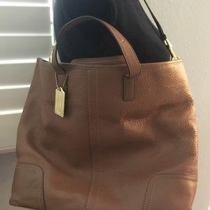 Coach Hadley Leather Duffle Bag